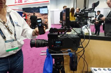 MTF lens controller for Canon mount lenses