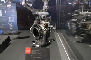 Canon C300 Mark II inside