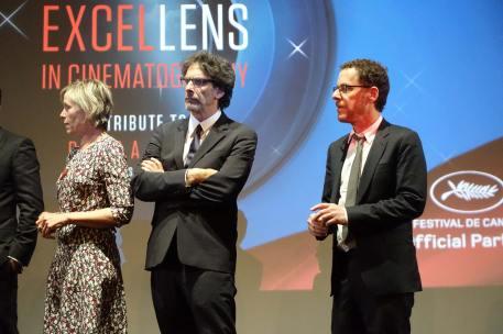Frances McDormand, Joel Coen, Ethan Coen