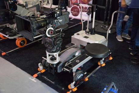 Cinetech Italiana's Capinera dolly. Photo: Forman