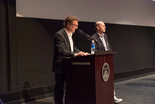 "Peter Crithary, Jon Fauer, ""Tomorrowland"" screening"