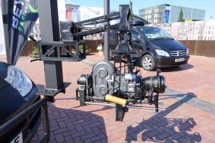 An Arricam film camera