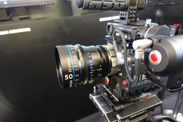 Schneider Xenon lenses cover RED Full Frame sensor