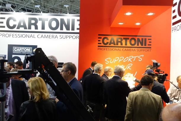 Cartoni 60th anniversary at IBC