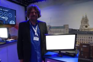 David Amphlett, designer of the Rosco Silk LED.