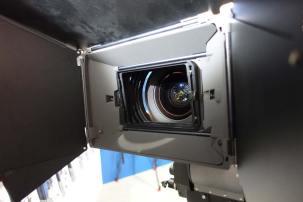 Vocas Tilt Filter Unit clips to inside of mattebox