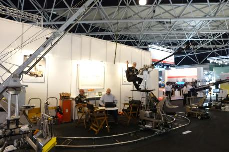 JL Fisher booth at IBC