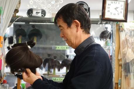 wig master Tsuneo Soga