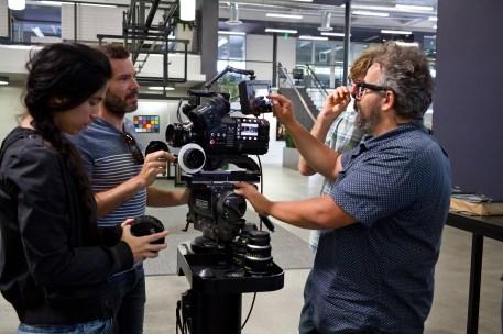 Eloi Moli, inematographer/ Camera Operator, Pablo Diez, AEC Asociacion Española de Cinematografos, Tania Espinosa, First AC. Bryce Grubler, Director