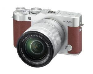 X-A3_Brown_16-50mm_frontleft