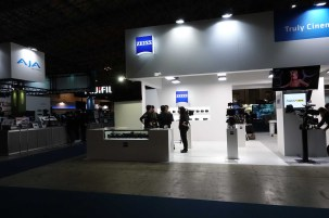 ZEISS booth