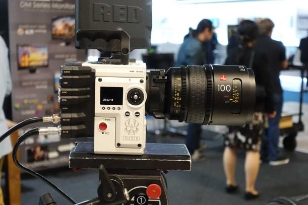 Raptor FF Macro 100 on RED Helium 8K camera