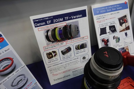 Manual iris conversion for Canon EF Zooms