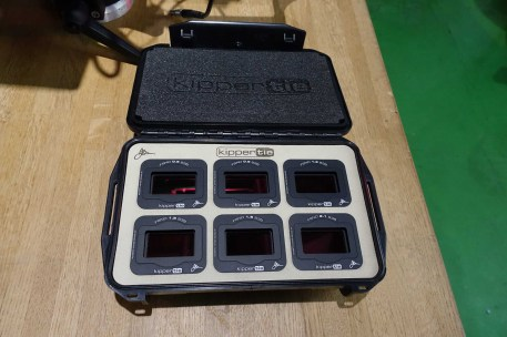 Case of KipperTie in-camera NDs for RED S35