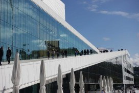 You can walk on the roof of the Oslo Opera House