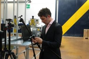 Paolo Pozzi and a Befree tripod.