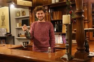 Andrea Sbrissa, Managing Director of Tenuta Baron, producer of Prosecco DOCG and fine wines—a few miles from Asolo and Bassano del Grappa.