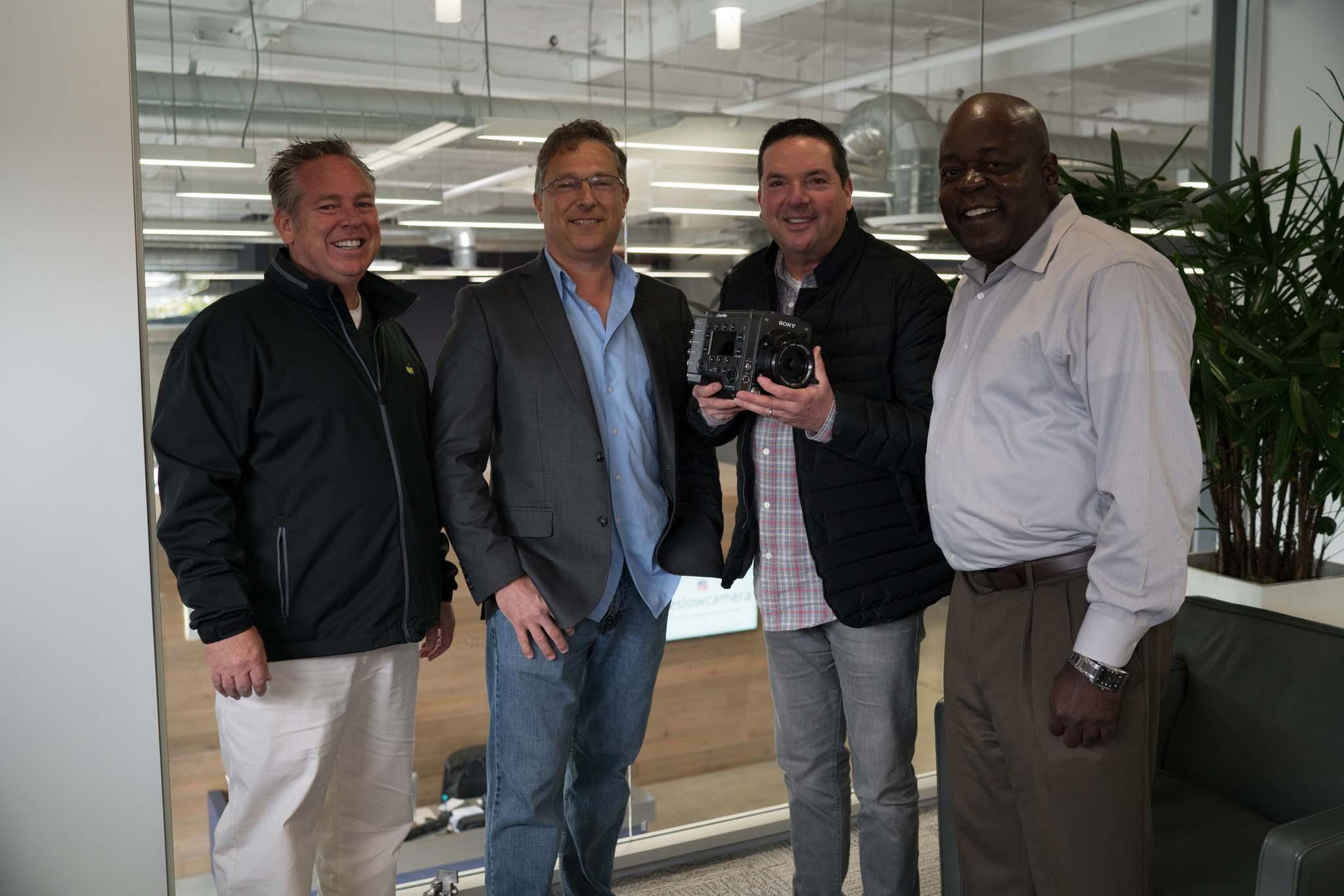 From Left: Dan Perry, Peter Crithary, Robert Keslow, Reginald Watson