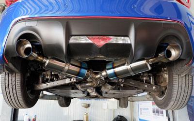 titanium exhaust pipe fd titanium