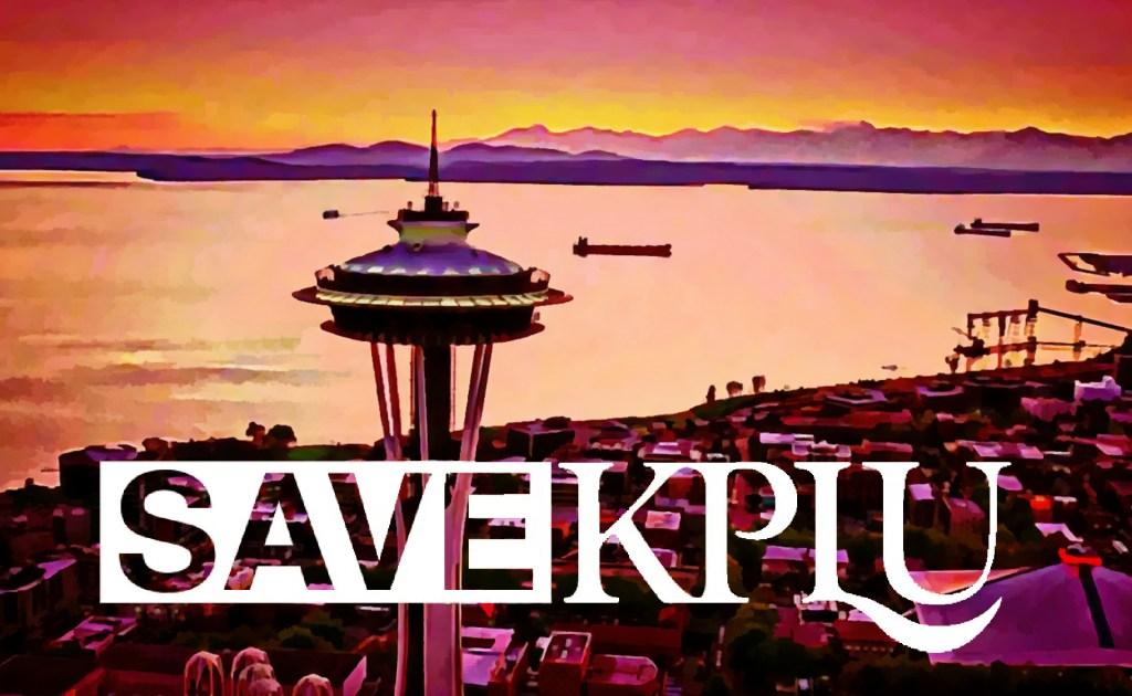 Save KPLU campaign Soars Over Seattle