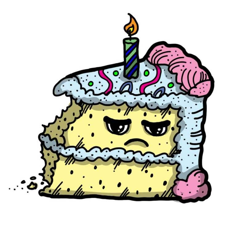 Food bite cake