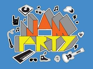 Jam Party Logo Concept