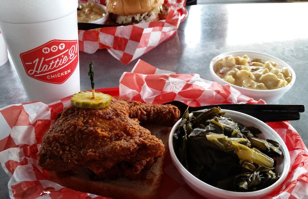 Best Nashville Restaurants Hatti B's Hot Chicken