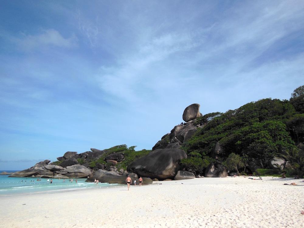 Scuba Similan Islands National Park Thailand
