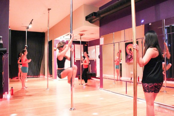 Pole Dancing Class at VAMPS in Austin, Texas | Fearless ...