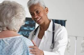 A kind woman doctor