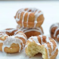 Yummy Dairy Free Gluten Free Lemon Donuts!