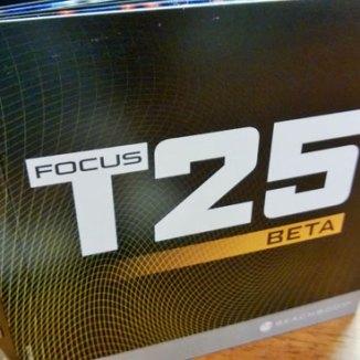 Focus T25 Beta DVDs