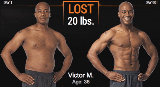 P90X3 Before & After Results - FearlessLeeFit com