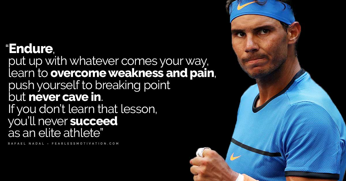 Never Give Up Quotes Wallpaper 20 Powerfully Motivational Rafael Nadal Quotes Develop