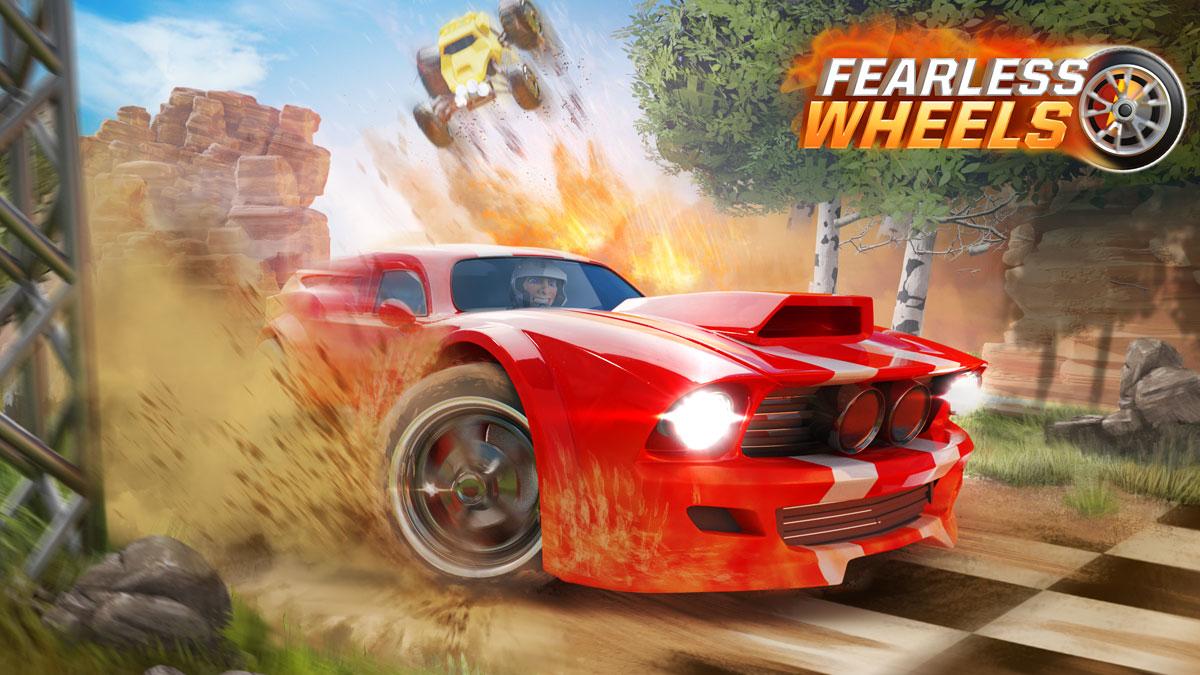 تنزيل لعبة Fearless Wheels  APK +mod مهكرة اوفلاين