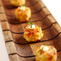 Mini Crab Cakes with Old Bay Aioli