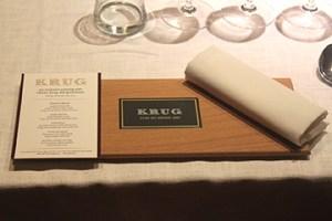 Krug Dinner Place Setting