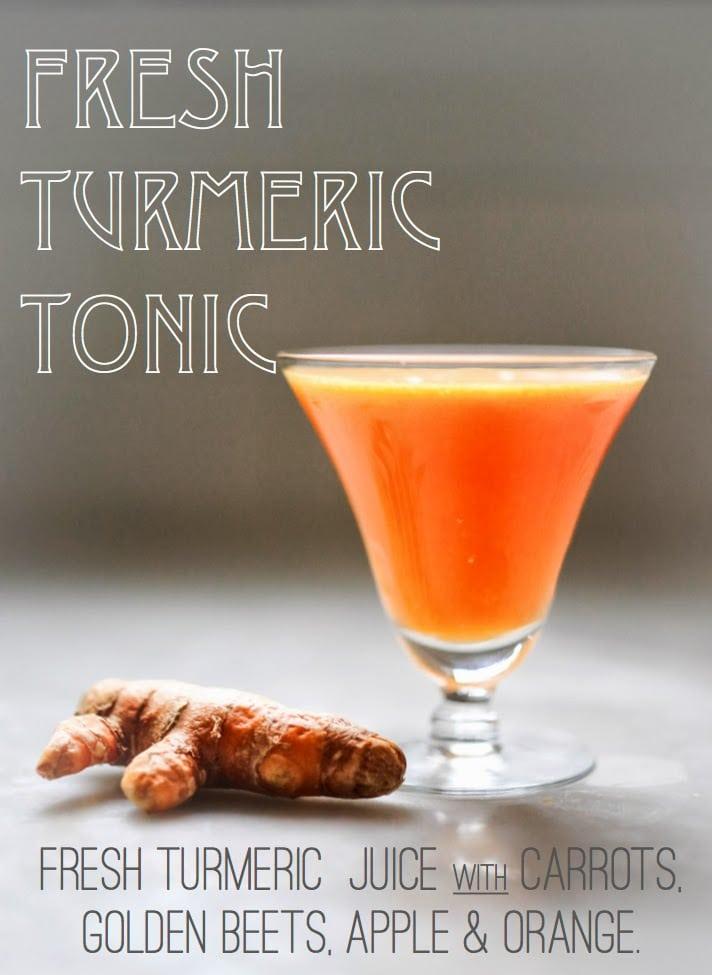 A New Year – Fresh Turmeric Juice
