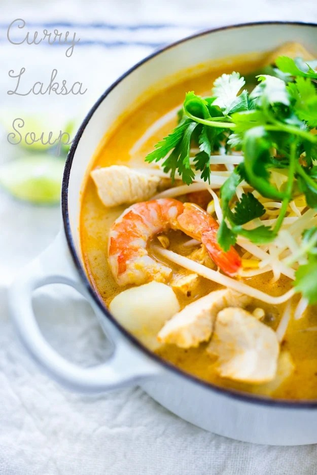 Laksa Soup – A Malaysian Coconut Curry Soup