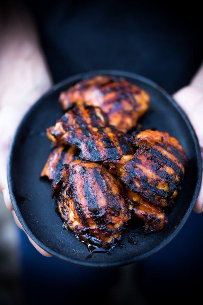 Grilled Indonesian Style Sambal Chicken, and easy flavorful recipe that can be made in 30 minutes. | www.feastingathome.com