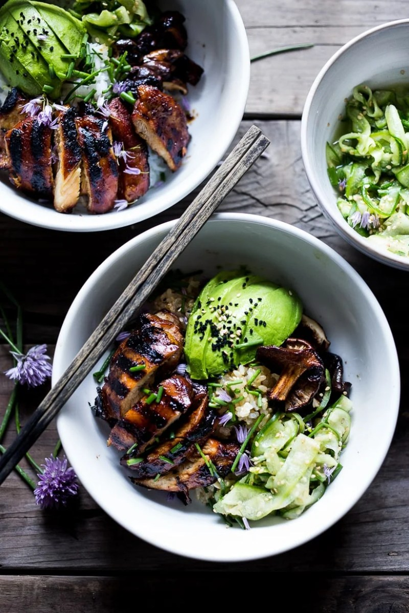JAPANESE FARM STYLE TERIYAKI BOWL