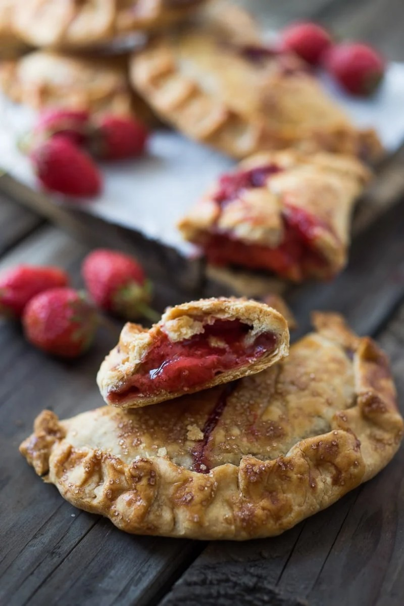 RUSTIC STRAWBERRY HAND PIES