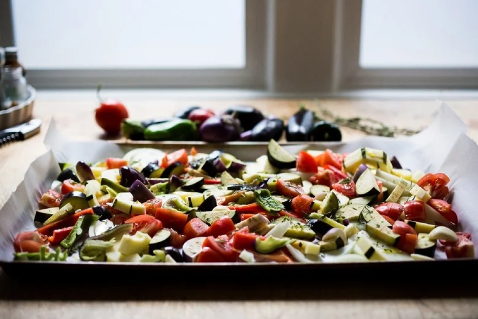 Sheet Pan Ratatouille- served 3 different ways. Make a big batch on Sunday then serve it during the busy workweek. | www.feastingathome.com