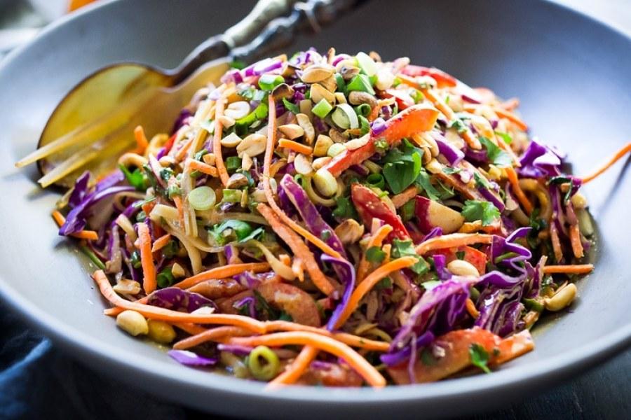 Can recipe asian style spicy peanut vinegarette