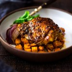 Sheet-Pan Harissa Chicken and Sweet Potatoes