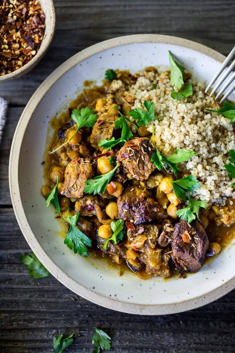 Instant Pot Middle Eastern Lamb Stew
