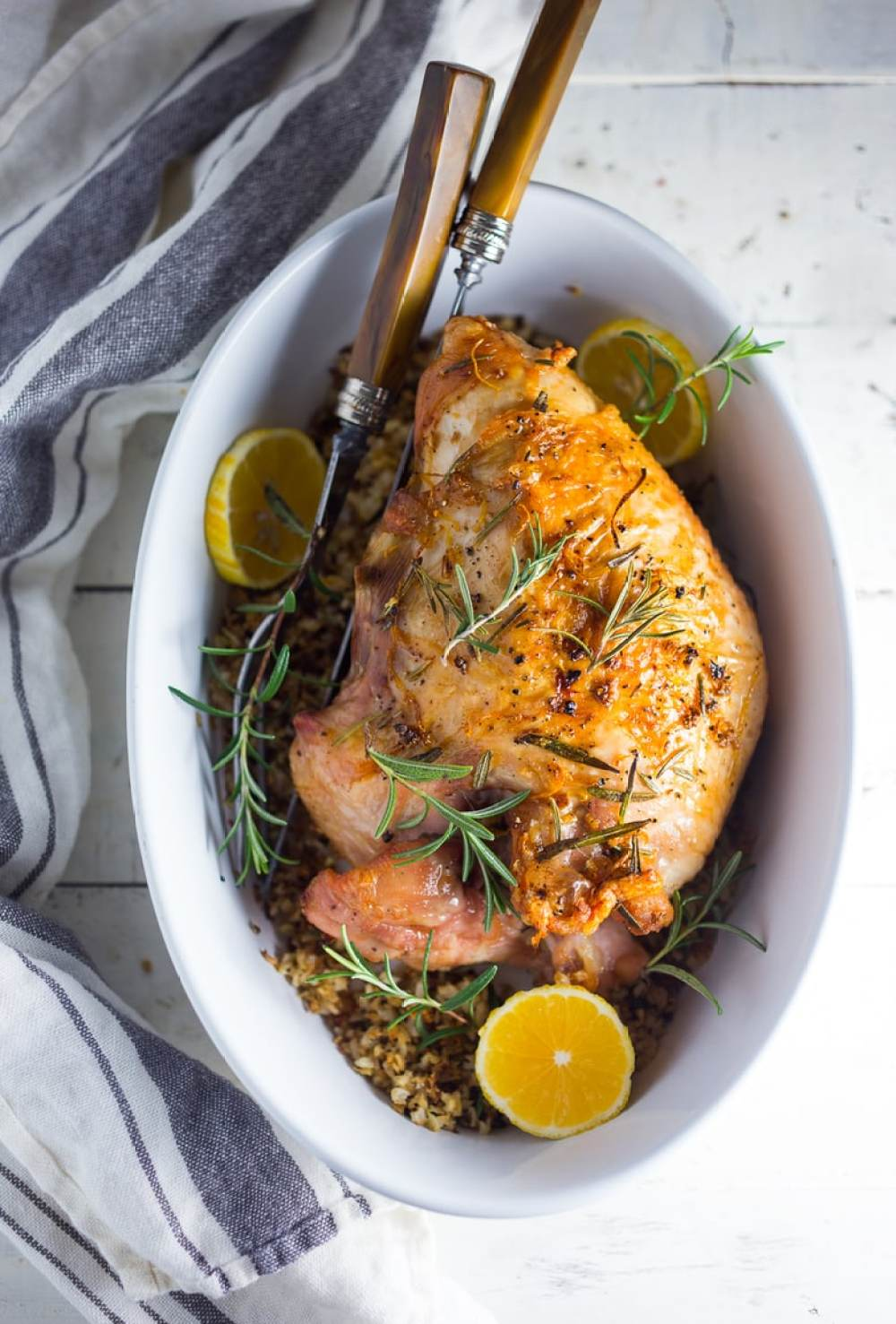 Simple Roast Turkey for Two