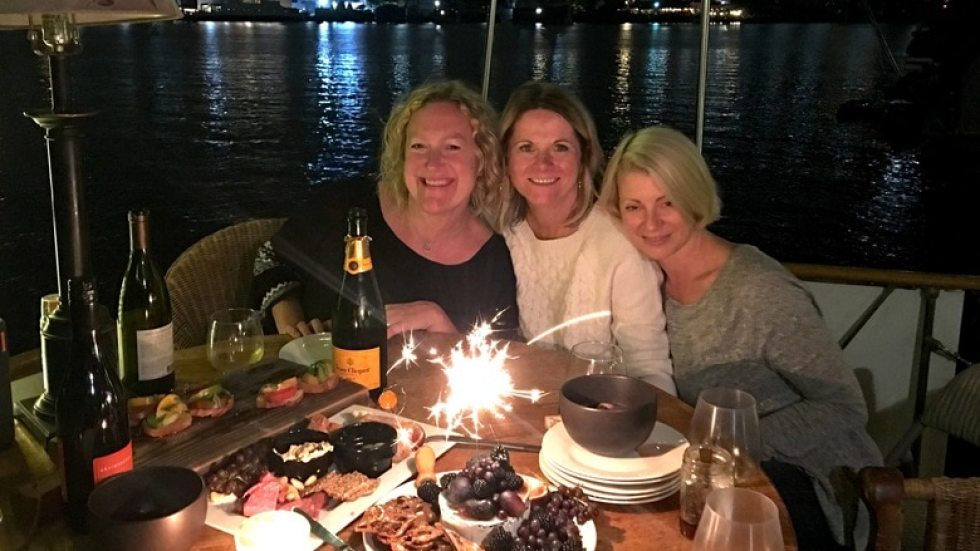 the three virgos and brie cake!