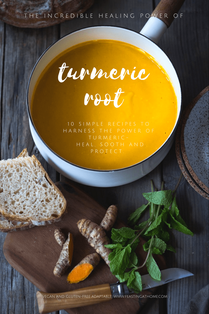Here are 10 simple recipes to harness the power of turmeric and incorporate it into our everyday diet!