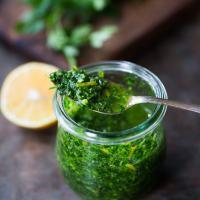 Gremolata (a zesty Italian herb sauce)